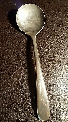 Vintage Silverplated Small Serving Spoon From Italy