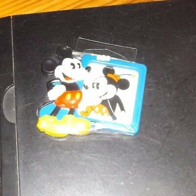 Walt Disney World Mickey & Minnie Mouse Refrigerator Magnet Picture Frame