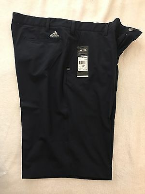 Adidas ultimate golf shorts Size 35 Navy - New With Tags