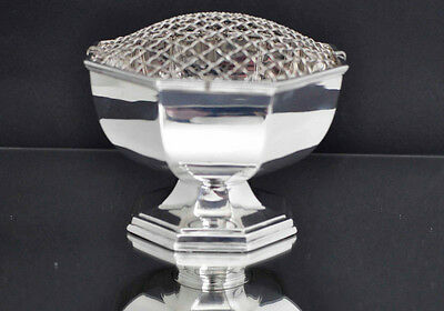 Vintage Art Deco Silver Plated Rose Bowl by Northern Goldsmiths, Newcastle