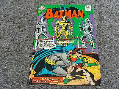 """Batman #172 (1965) """"Attack of the Invisible Knights!"""" * 5.5 * FN- *"""