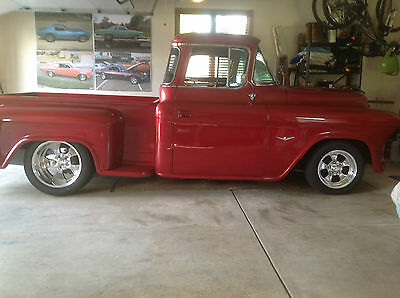 1955 Chevrolet Other Pickups customized 1955 chevy 3100 customized pickup truck series 2