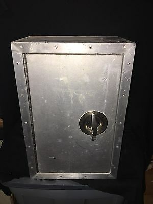 "1960's 18"" Stainless Steel Locker"