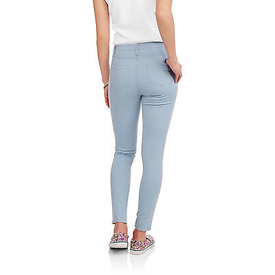 Faded Glory Women's Soft Knit Color Full Length Jegging with Back Pockets