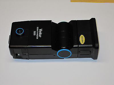 Vivitar Zoom Thyristor 3500 with DM/M module shoe mount flash for Minolta