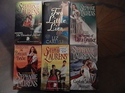 Lot of 6 Historical Romance Books by Stephanie Laurens & Liz Carlyle #4