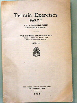 The Mailing List of the General Service Schools, Part I--Series of 1921-22