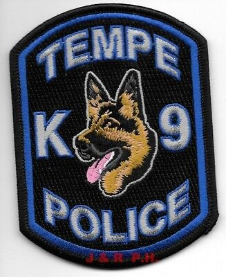 "Kingman  K-9 Unit, Arizona  (4"" x 5"" size) shoulder police patch (fire)"