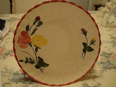 Blue Ridge Southern Potteries Luncheon Plate - Victoria Pattern - Made in USA