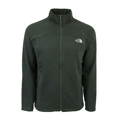 The North Face Men's Needit Full Zip Jacket Thyme Green 2XL
