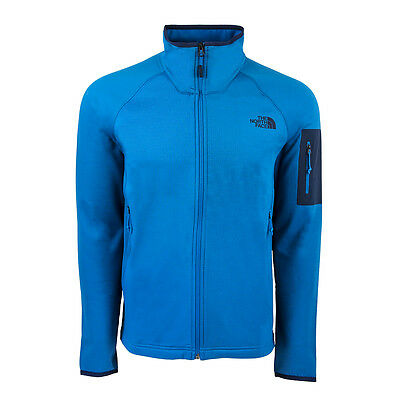 The North Face Men's Borod Full Zip Jacket Hyper Blue L