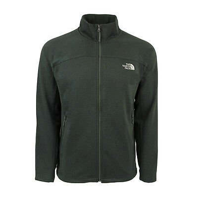 The North Face Men's Needit Full Zip Jacket Thyme Green L