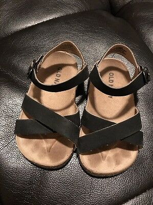 Baby Girls Old Navy Sandals Size 6-12 Months EUC