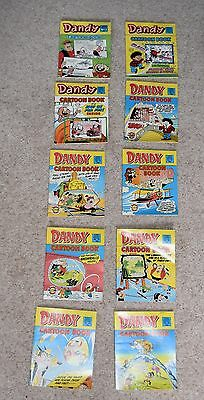 Vintage Dandy Mini Magazine Comic Library Bundle Issues 1983 x 10