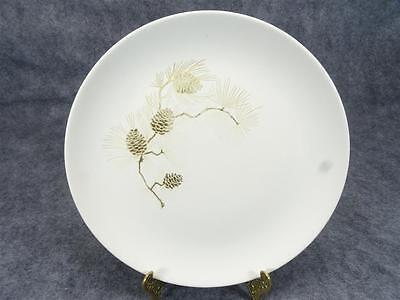 """Preview By Paden Pinecone Pattern 10"""" Dinner Plate Circa 1950's"""