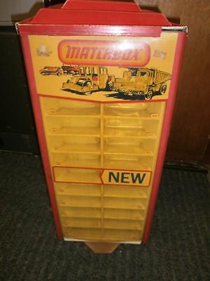 Orignal Matchbox 75 Superfast Shop Display Stand 1970's Rare