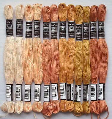 Embroidery Twist Embroidery Yarn @12x ochre-sounds@ Cotton twist embroider -30