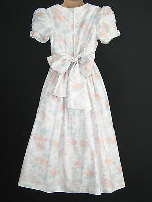 Laura Ashley Vintage Spring Daisy Rose Flower-Girl/occasion Dress, 7-8 Yrs
