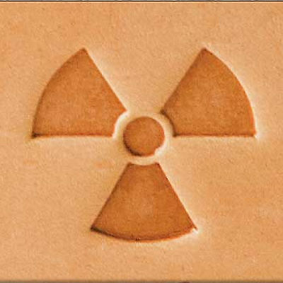 Radioactive 2-D Stamp 8598-00 by Tandy Leather