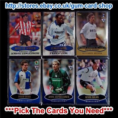 Topps Premier Gold 2004 Football Cards *Pick The Cards You Need*