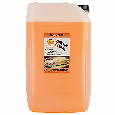 Genuine Midchem Orange Pressure Wash Snow Foam 25L Car Cleaner