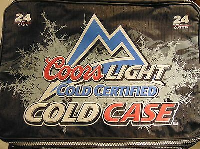 Coors Light Cooler collapsible Bag 24 Capacity