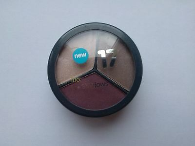 Boots No 17 Seventeen Trio Eye Shadow Plum Pudding Full Size New & Authentic