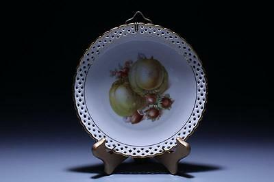 Antique German Plate, Early 20th c.