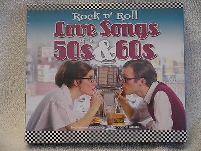 Rock n' Roll Love Songs of the 50s & 60s - 4 CDs - NEW