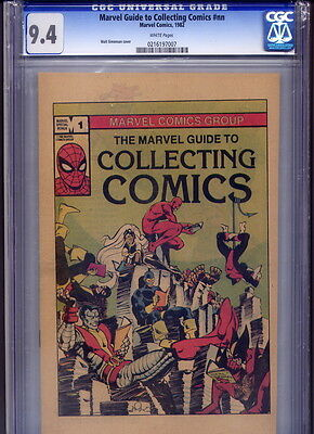 The Marvel Guide to Collecting Comics #1 NM CGC 9.4 1982