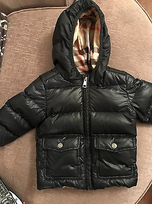 Burberry Kids  Baby Boy Coat Age 12 Months