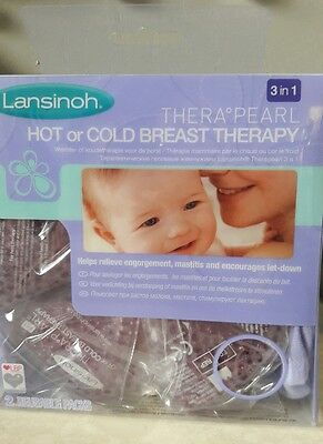 Lansinoh TheraPearl 3-in-1 Hot or Cold Breast Therapy  *BRAND NEW*