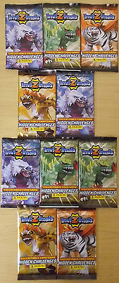 Invizimals ~ Panini Trading Card Game ~ 10 x Sealed Booster Packs = 60 Cards