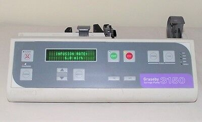 Graseby 3150 Automatic Syringe Driver Infusion Pump Fluid Administration