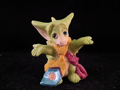 The Whimsical World Pocket Dragons  A Choice Of Ties Figure SIGNED