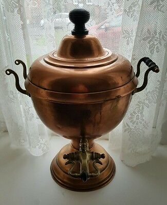 Victorian / Vintage / Antique Copper Samovar  / Tea Urn /make me an offer!