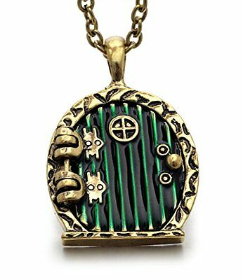 REINDEAR Hobbit Lord of the Rings Locket Shire Movable Door Pendant Necklace ...
