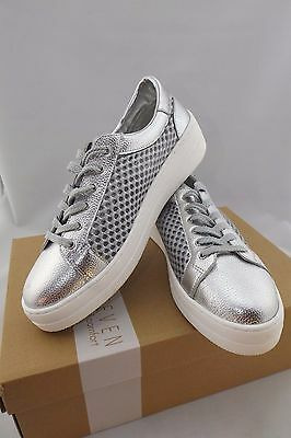 95017a2b6df STEVE MADDEN NAPA Natural Comfort Rose Gold Leather Mesh Lace up ...