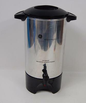 GE 42-Cup COFFEE URN Maker Server Electric Warming Model Large Capacity 106840