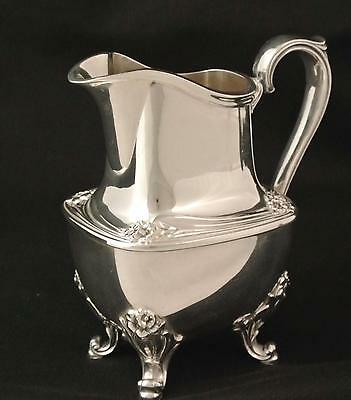 Vintage Rogers & Bros. Is  Daffodil Silver Plate Creamer Cream Pitcher Jug