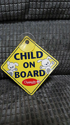 Baby/Child On Board Sign