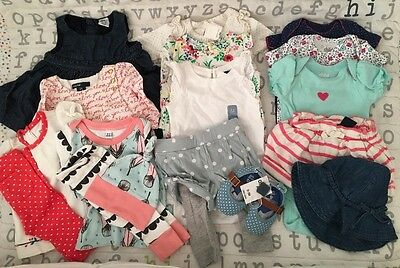 Baby Girl Lot 0-3 Months - BABY GAP, GYMBOREE