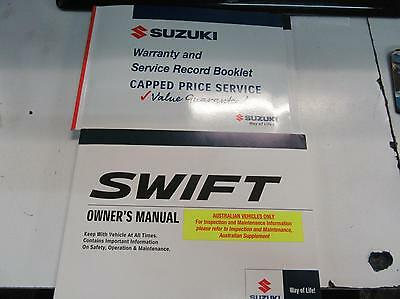 Suzuki Swift Owners Handbook Fz 02/11-03/17 11 12 13 14 15 16 17