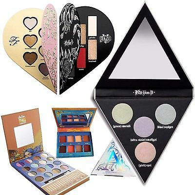 Queen of Hearts Ride or Die Caribbean Eyeshadow Palette the Magic Highlights Kit