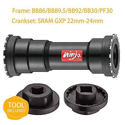 TOKEN Thread-Press Fit Bottom Bracket BB86/BB89.5/BB92/BB30/PF30 to SRAM GXP