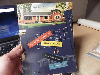 Vintage Mid Century Modern Architect House Design Book Celotex Home Plans 1952