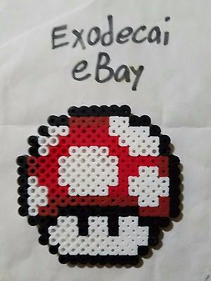 Pokeball Pokemon Poke Ball Item Bead Sprite Perler Pixel Art