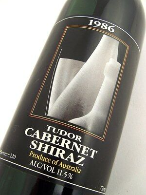 1986 TUDOR Cabernet Shiraz Isle of Wine