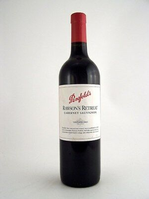 2003 PENFOLDS Rawson's Retreat Cabernet Sauvignon Isle of Wine