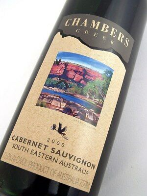 2000 CHAMBERS Creek Wines Cabernet Sauvignon Isle of Wine